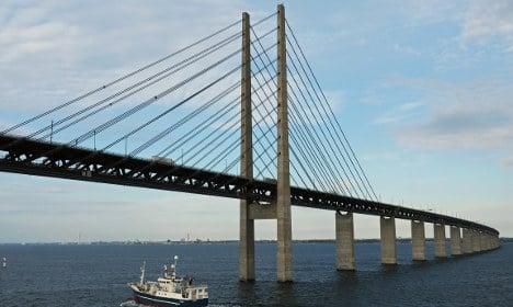 Four arrested for trying to cross Øresund bridge on foot