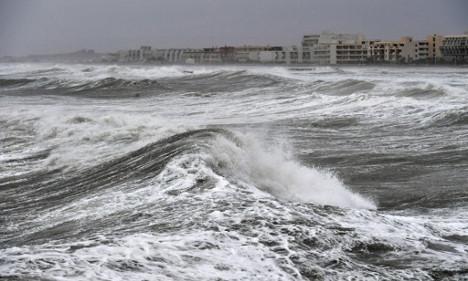 Red alert as violent storms pummel southern France