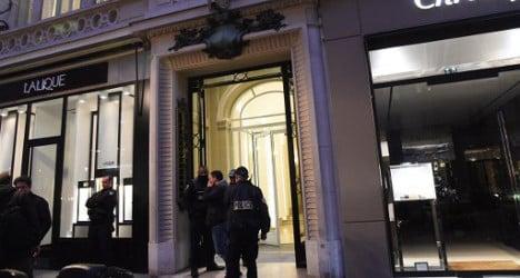 Swiss luxury watches stolen in Paris raid