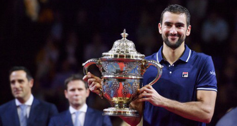 Croatian tennis ace Cilic triumphs in Basel