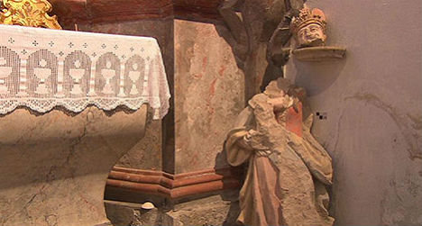 'Sensational' 300-year-old Madonna found in Burgenland