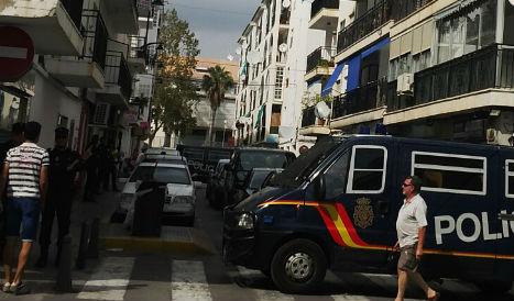 Terror probe leads to raid in Costa Blanca resort