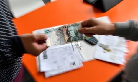 Swedish household debt hits record high