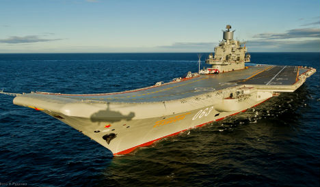 Spain under pressure to stop refuel of Russian warships