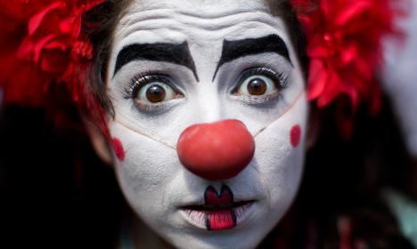 Armed clowns threaten woman in Sweden