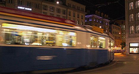 Zurich tram driver attacked in confrontation with biker