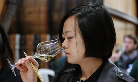 Chinese wine tasters enjoy shock win in France