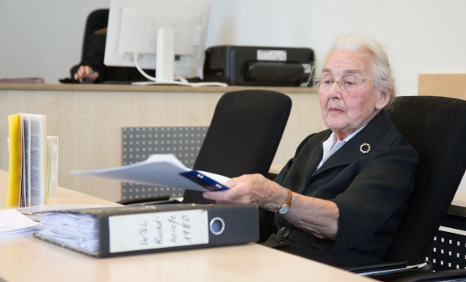 'Nazi Grandma' sent to jail again for Holocaust denial