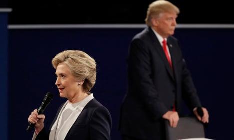 Vast majority of Swedish MPs support Hillary Clinton
