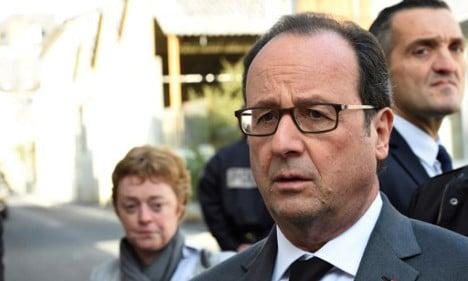 Hollande 'deeply regrets' remarks on 'cowardly' judges