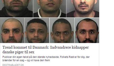 Danish tabloid pulls 'racist' migrant sex kidnap post