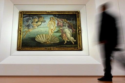 Florence's Uffizi gallery shines new light on Botticelli masterpieces