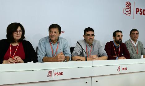 Spain's Socialists lift veto on Rajoy to break deadlock