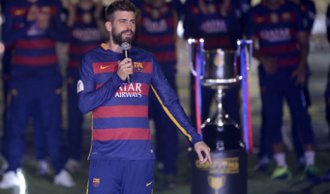 Gerard Pique wants to be president of Barcelona