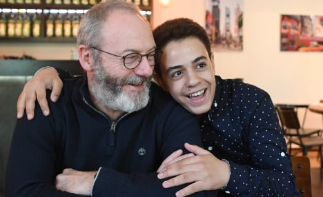 Syrian teen gets surprise visit from Game of Thrones star
