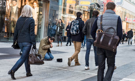 Majority of Stockholmers want to ban begging: survey