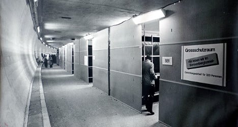 Inside Switzerland's largest nuclear bunker – 40 years on