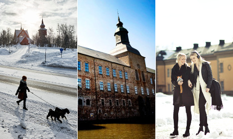 Are these Sweden's 12 prettiest towns?