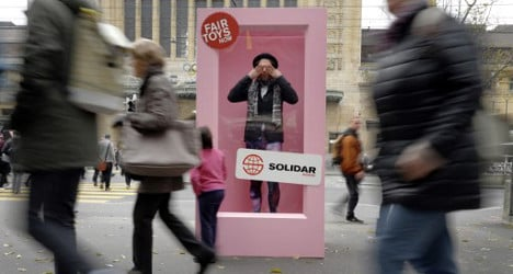 Swiss charity tackles toy company with Barbie stunt