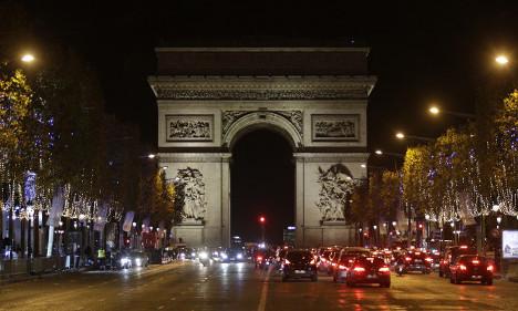 IN PICS: Christmas lights illuminate Champs Elysées