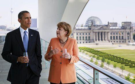 Obama: Merkel was my closest ally