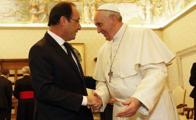 'Liberté, égalité, fraternité': Pope tells France to mean it