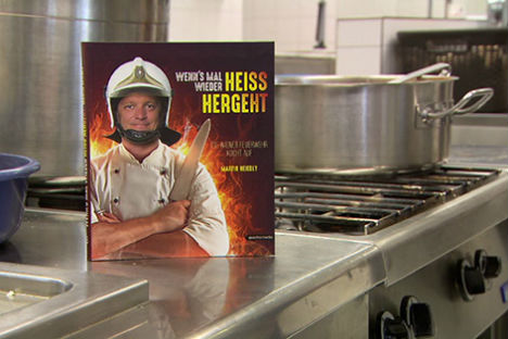 Vienna firefighters publish recipes for times of crisis