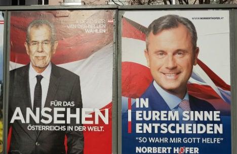 Austria's presidential rivals clash in TV debate