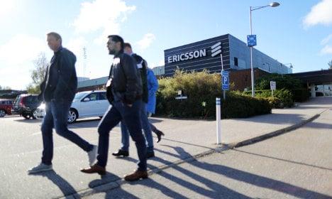 Ericsson confirms job cuts at Swedish factories