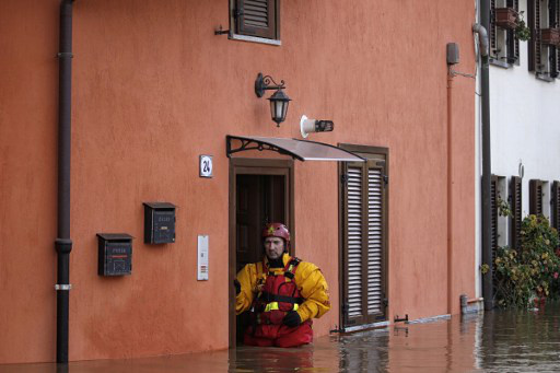 Two dead after heavy storms across northern Italy