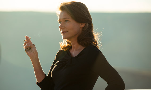 Danish 'Borgen' star making up for lost time