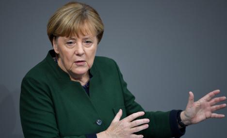 Merkel: public 'manipulated' by fake news and trolls