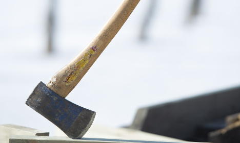 Norwegian woman 'lucky' to survive Swedish axe attack