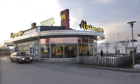 Woman 'moves in' to Swedish McDonald's, stays for weeks