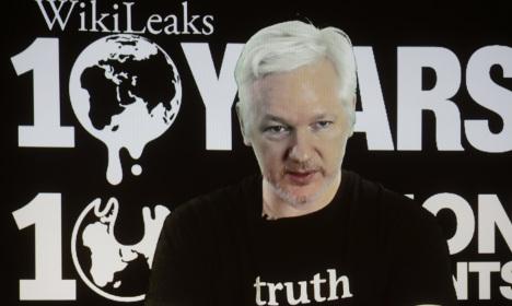 Britain has Assange DNA sample for Sweden
