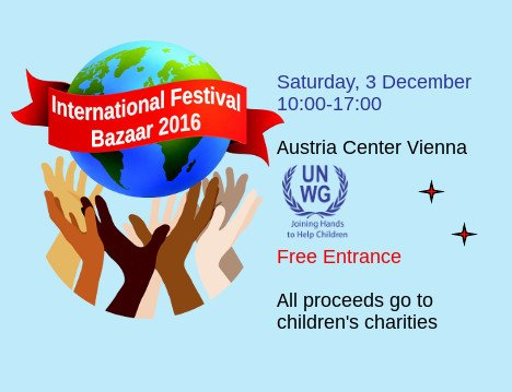Eat, shop and make merry at the UNWG Festival Bazaar