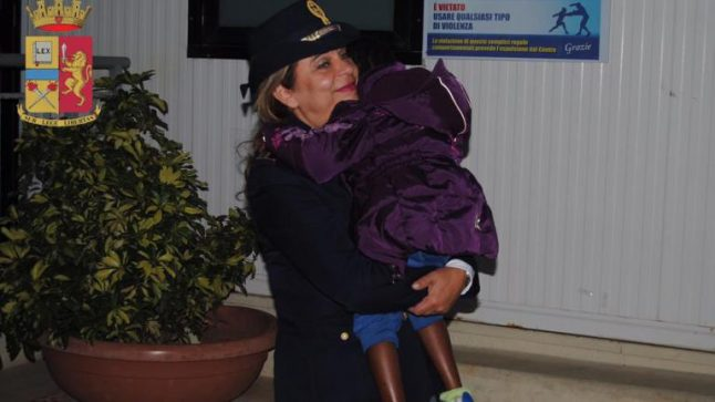 Four-year-old migrant reunited with mum in Italy thanks to bizarre coincidence