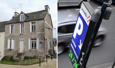 Paris parking spots pricier than houses in rural France