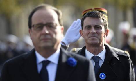 Divided French left plays down presidential feud