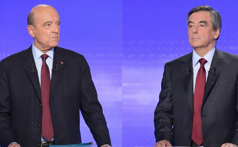 Fillon vs Juppé: How French presidential rivals square up