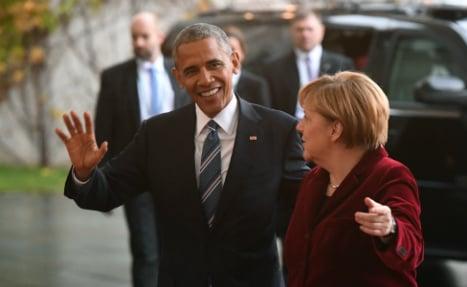 Obama: 'I'd vote for Merkel if I could'