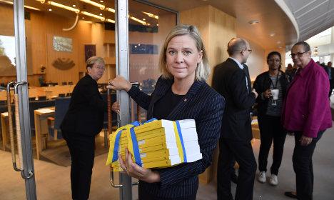 Sweden's budget passes despite far-right opposition