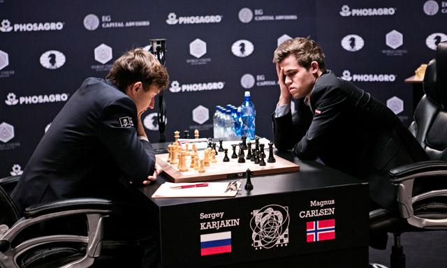 Carlsen faces 'test of manhood' after loss and post-game meltdown