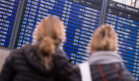 Lufthansa cancels 800 flights for third day of pilot strike