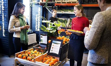 Danish supermarket offers fresh take on expired food