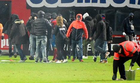 Henrik Larsson fearing for safety after hooligan attack