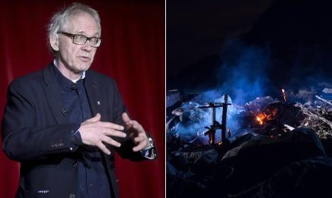 Notorious Lars Vilks artwork burned down in Sweden
