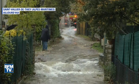 South eastern France on flood alert as storms push on