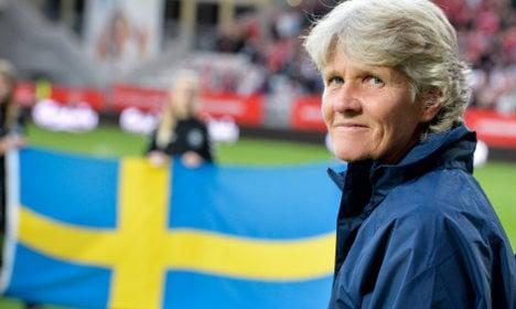 Football: New coach for Swedish women's team