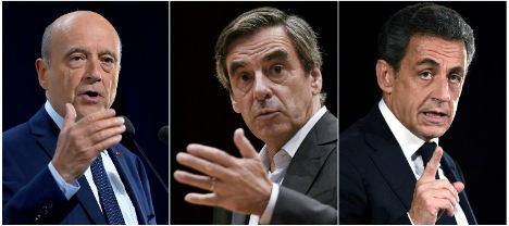 Three-way race in French right's presidential primary